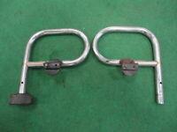 CLASSIC MINI REAR BUMPER NUDGE BAR ENDS-COOPER-1275-AUSTIN-ROVER-BMC-MINOR