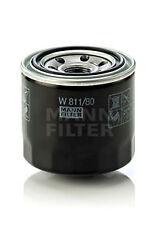 MANN-FILTER Oil Filter W811/80 Hyundai Accent, i20, i30, Kia, Mazda, Mitsubishi