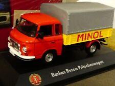 1/43 Atlas DDR Auto Kollektion Barkas B1000 Pritschenwagen Minol 7230 026