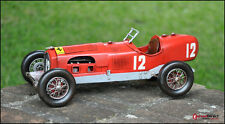 Handmade 1950 RED FERRARI 275 F1 1:12 SCALE Collectable Antique -Wheels Moveable