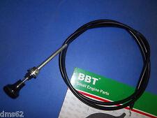 "BBT PUSH PULL CHOKE CONTROL FITS CUB CADET & MANY BRANDS 58"" LONG 12365 BTT"