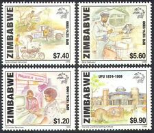 Zimbabwe 1999 UPU/Moto/Moto/Bici/Trasporto/POSTALE 4 V Set (n15844)
