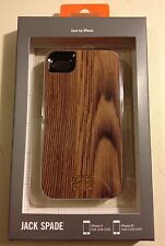 Jack Spade Kate Spade WOOD GRAIN look iPhone 4/4S hardshell case cover