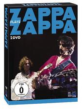 2 DVDs *  ZAPPA PLAYS ZAPPA - Frank Zappa  # NEU OVP -