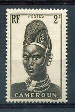 CAMEROUN, 1939, timbre 162, FEMME de LAMIDO, N' GAOUNDERE, neuf**