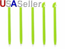 5x Lite Green TOUCH STYLUS PEN FOR NINTENDO NDS DS LITE DSL video game