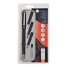 Manuscript Creative Calligraphy Pen Set With 4 Nibs Italic Scroll Writing 1105