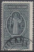 Italy Regno - 1929 Montecassino - Sass. n.268 cv 600$ used