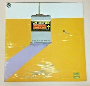 Cat Stevens (1972 Vinyl LP Playtested DES-18061) Very Young And Early Songs