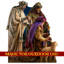 THREE WISE MEN Plastic Outdoor YARD SIGN Weather Resistant Christmas FREE SHIP