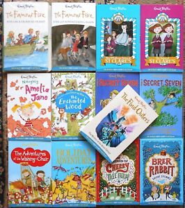 Lot 13 Enid Blyton Books The Wishing Chair/Enchanted Wood/Famous Five/St Clare's