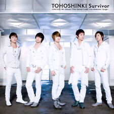 J-pop TOHOSHINKI (TVXQ) - 26th single Album [Survivor] (TVXQS26C)