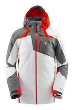 Spyder Leader Gore-Tex Ski Jacket - Men's - White - Medium