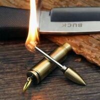 Waterproof Lighter Flint Fire Starter Match Keychain Cigar Kitchen Pendant New