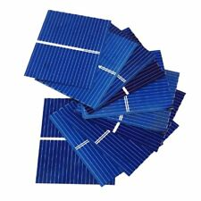 Aoshike 100pcs 39 x 31.2mm/1.5x1.2inch Polycrystalline Silicon Solar cell Panel