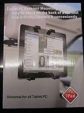 Liberación rápida de Agarre Universal coche reposacabezas Soporte para reproductor portátil de DVD