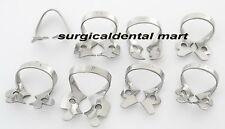 19 Pcs. Endodontic Rubber Dam Clamps Dental Orthodontic Instrument Free Ship