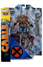 "MARVEL DIAMOND SELECT CABLE 7"" ACTION FIGURE MIP X-MEN"