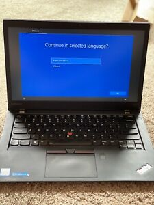 Lenovo Thinkpad t470s i7 7th gen