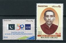 Pakistan 2017 MNH Majeed Amjad Asian Development Bank ADB 2v Set Banks Stamps