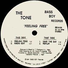 THE TONE - Feeling Free - 1991 - Bass Boy - BB-9108 - Usa