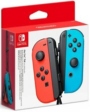 Nintendo Switch Joy-Con Controllers - Neon Red/Neon Blue Gaming New