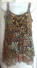 Debenhams Size 12 Petite stunning beaded top, hardly worn
