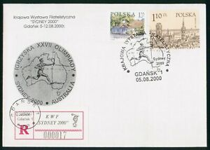 MayfairStamps Poland 2000 Sydney Games Cover wwp80529