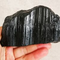 700g Natural Black Tourmaline Crystal Stone Gem Original Mineral Specimen