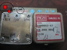 1 Piezo 2900082 47 10mhz 12v Ocxo Crystal Oscillator Replace Trimble 37265