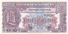 UNC 1948 Great Britain 1 Pound Armed Forces Note, 2nd Issue, Pick M22