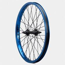 """NEW Verde Regent Front BMX Wheel 3/8"""" Double Wall 36 spoke Sealed Bearing Blue"""