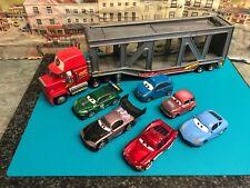 Disney Cars car transporter and Cars