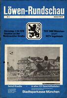 II. BL 78/79 TSV 1860 München - MTV Ingolstadt, 07.10.1978, Schorsch Metzger