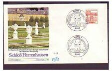 Ersttagsbrief-Briefmarken aus der BRD (1980-1989) mit Bauwerks-Motiv