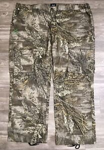 """Real Tree Max-1 XT Camouflage Men's Cargo Hunting Pants 48/50 3XL 32""""L NWT J2"""