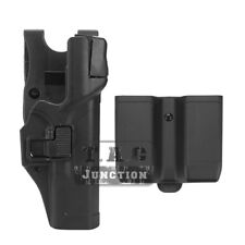 Level 3 Right Pistol Holster +Jacket Slot &Mag Pouch for Glock 17 19 22 23 31 32