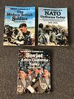 UNIFORMS ILLUSTRATED LOT OF 3 BOOKS Modern British Soldier NATO Soviet Military
