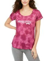 Ideology Women's Tie-Dye Warrior Athletic T-Shirt, Red Violet large 320