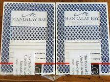24 Decks Mandalay Bay Casino Las Vegas Playing Cards.
