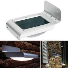 16 LED Jardin Mouvement Sonore Capteurs Lampe De Mural Solaire Extérieurs Hot  A