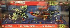 Lego Ninjago Masters of Spinjitzu Store Display Morro Dragon Destiny's Bounty