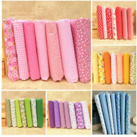7 Pieces Cotton Fabric Pre-Cut Cotton Cloth Fabric For Sewing Quilt Fabric 2019