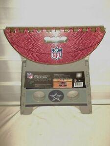 Dallas Cowboys NFL Football Light Weight Durable Folding Step Stool BRAND NEW!