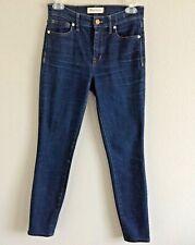 Madewell Womens High Riser Skinny Jeans   Blue Dark Wash Size 26