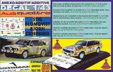 ANEXO DECAL 1/43 AUDI QUATTRO SPORT S.BLOMQVIST ACROPOLIS R. 1985 2nd (01)