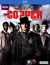 Copper: Season Two 2 (2-Disc Blu-ray)  BRAND NEW SEALED