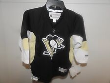 NHL REEBOK Premier Pittsburgh Penguins Hockey Jersey New Child 4-7