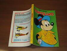 WALT DISNEY TOPOLINO LIBRETTO N°822 DEL 29 AGOSTO 1971 CON PUNTI DEL CLUB