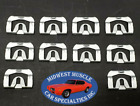 67-80 GM Front Windshield Rear Window Reveal Moulding Molding Trim Clips 10pc KK